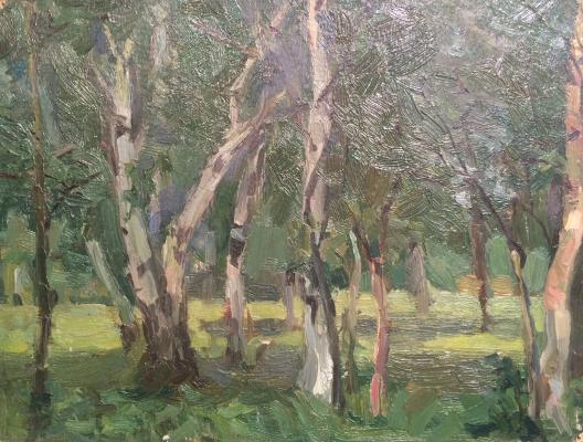 "Dekhtereva T. A. ""Birch Grove. Pereslavl."""