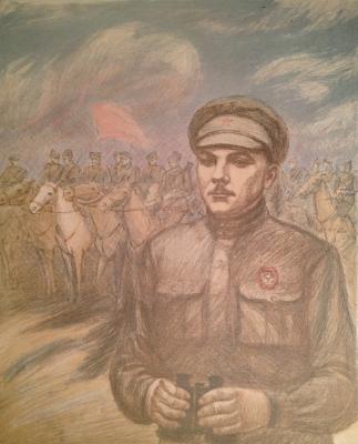 """Dekhtereva T. A. """"Kliment Yefimovich Voroshilov."""""""