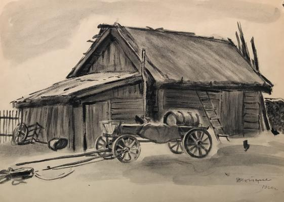 """Dekhtereva T. A. """"Shed and trolley"""""""