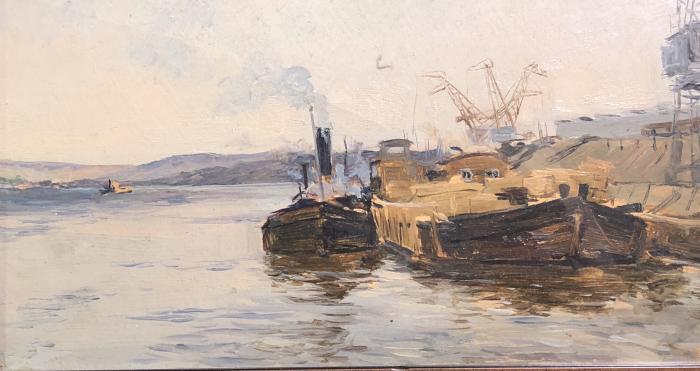 "Dmitriyevsky V. K. ""On the pier."""