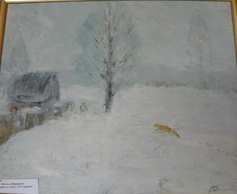 """Tokarev V. F. """"Snowstorm in Kisharino"""""""