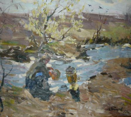 """Tokarev V. F. """"Spring"""""""