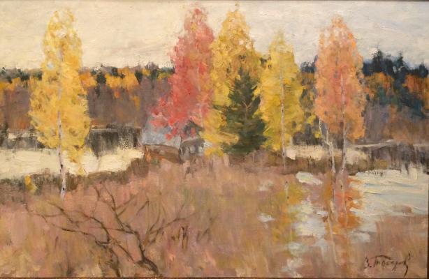 """Tokarev V. F. """"Autumn Landscape"""""""