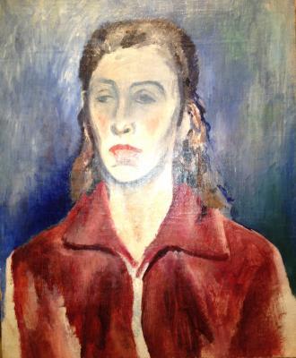 "Bruni L. A. ""Portrait of NK Bruni- Balmont"""