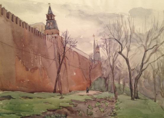 """Пискарева """"Кремлевская стена."""""""