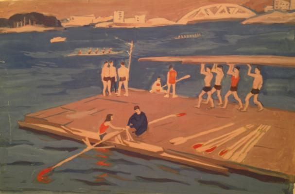 "Piskareva A. N. ""Section rowing in Moscow."""