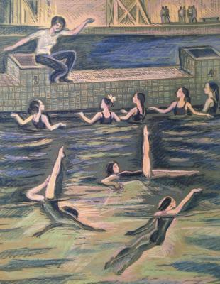 "Piskareva A. N. ""Figure swimming."""