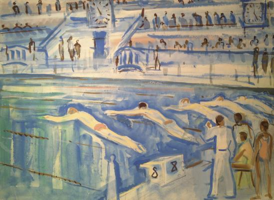 "Piskareva A. N. ""Swimming competition."""