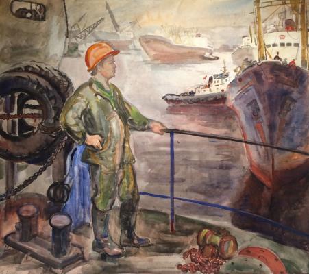 "Piskareva A. N. ""Seaman Class II Kostyuk. Doc 412"""