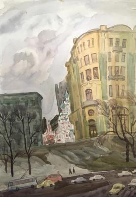 Пискарева Анна Николаевна. Площадь Ногина