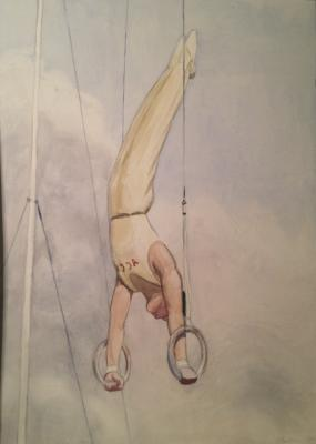 """Viting N. I. """"Athletics. Exercises on the rings."""""""