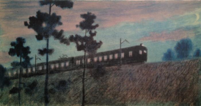 """Viting N. I. """"Night train."""""""