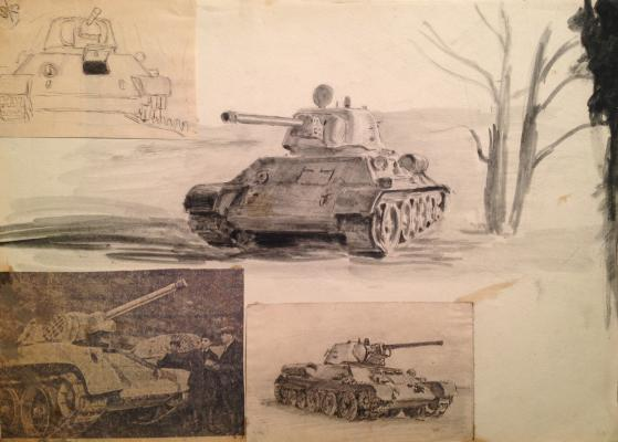 "Viting N. I. ""Military sketches"""