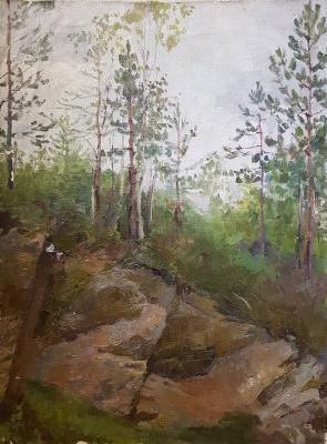 Витинг Николай Иосифович. Лес