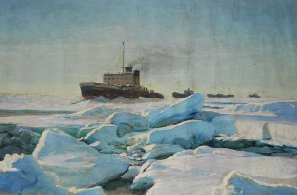 "Ruban I. P. ""Great northern sea."""