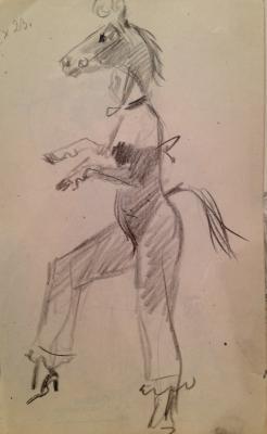 """Rudakov K. I. """"Horse."""""""