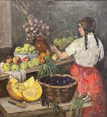 "Stenshinskaya N. S. ""Autumn Gifts."""