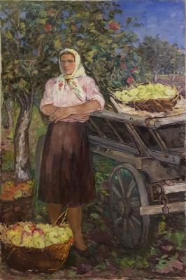 Стеньшинская Нина Сергеевна. В саду