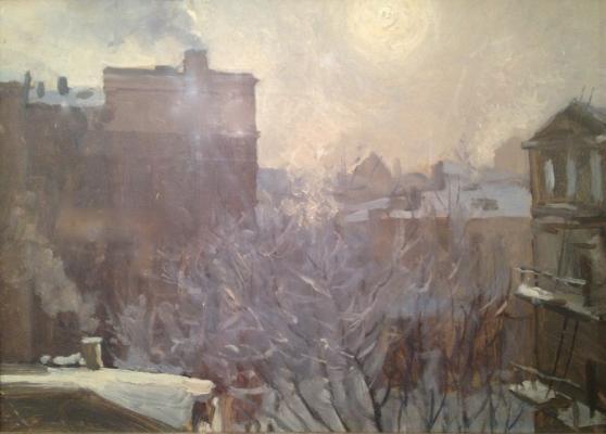 """Kupriyanov M. V. """"Winter Moscow ."""""""