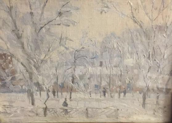 """Kupriyanov M. V. """"Boulevard winter."""""""