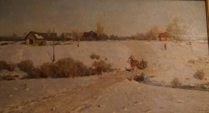 "Korolev G. G. ""The beginning of spring ."""