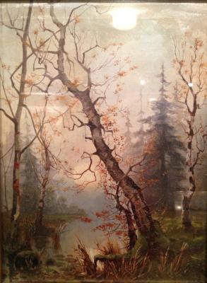 """Klever (Moskovsky) K. Y. """"Autumn landscape ."""""""