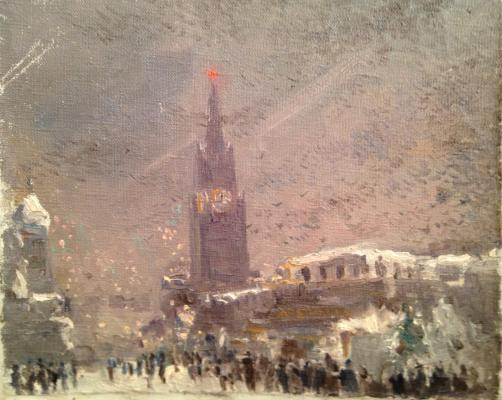 """Yershov I. A. """"Red Square in winter."""""""
