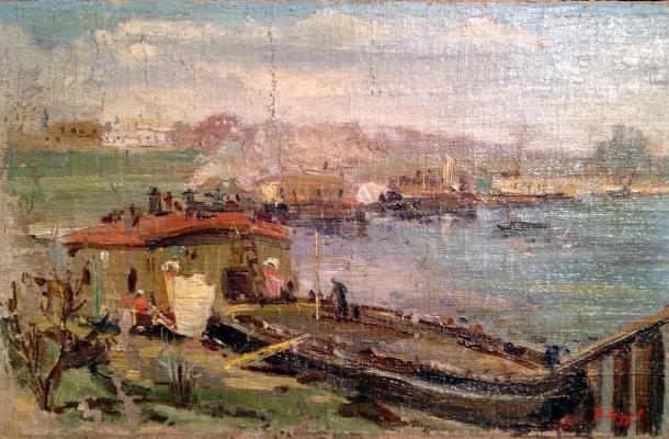 """Yershov I. A. """"Kolomenskoye. On Moscow river"""""""