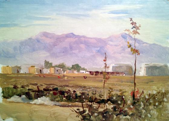 "Yershov I. A. ""Development of virgin lands. Novobou"""