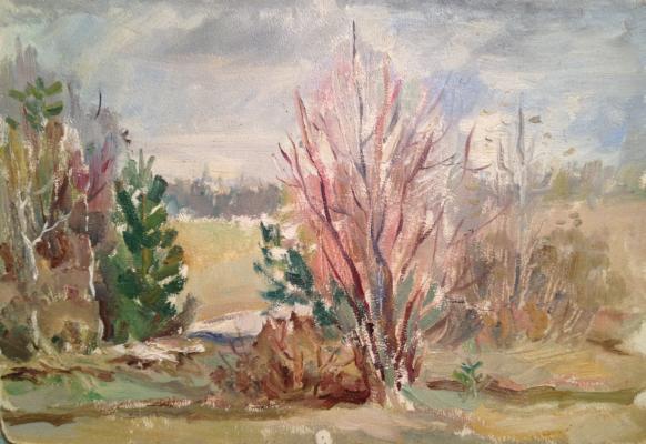 """Yershov I. A. """"Spring landscape ."""""""