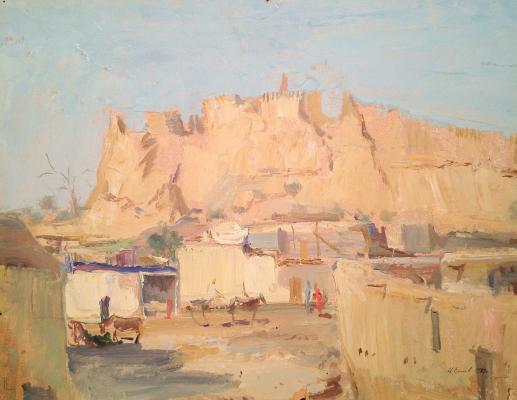 "Yershov I. A. ""Ark fortress hill. Buhara"""