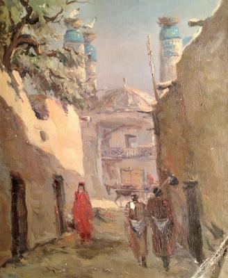 """Yershov I. A. """"A street in Bukhara"""""""