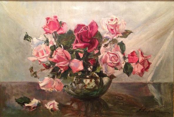 "Lapshin G. A. ""Roses ."""