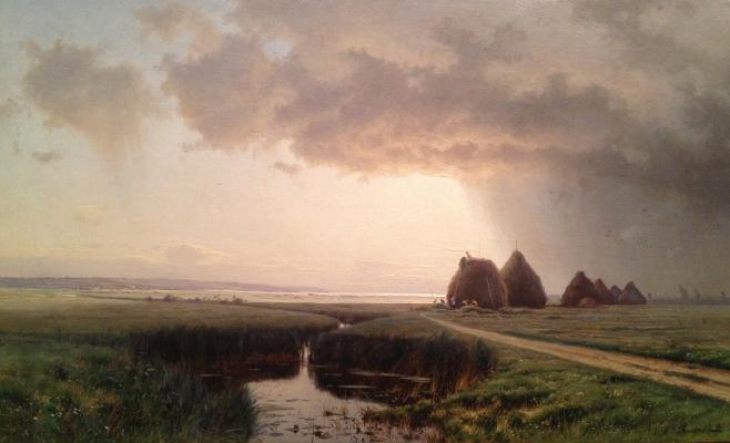 "Krachkovsky I. Y. ""Before the storm ."""