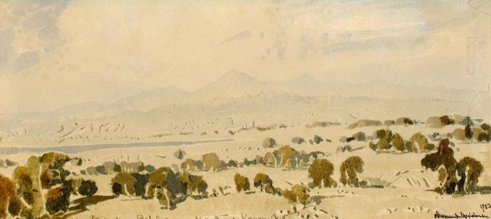 """Voloshin M. A. """"Landscape."""""""