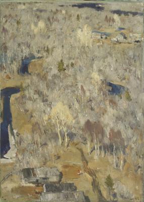 """Tyulenev V. I. """"Landscape."""""""
