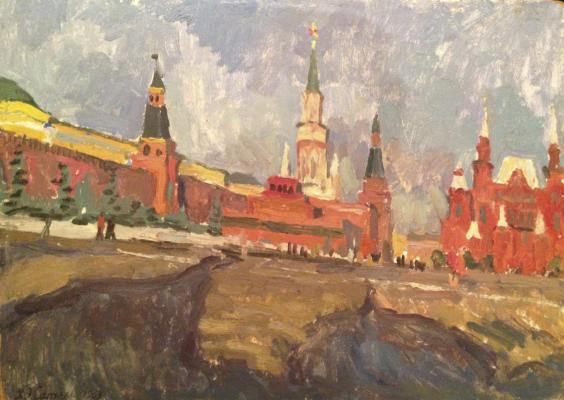 """Satel G. E. """"Red Square."""""""
