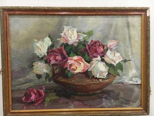 "Valentina Petrovna Tsvetkova ""Roses."""