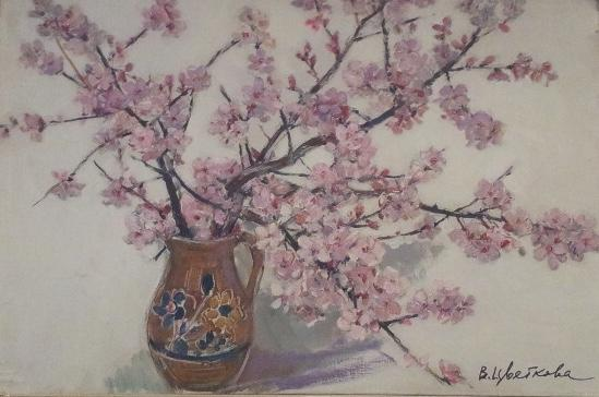 "Tsvetkova V. P. ""Almond blooms"""
