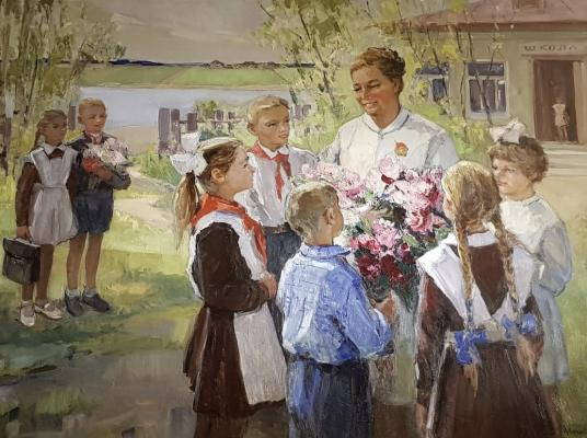 Цветкова Валентина Петровна. Первое сентября