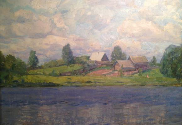"Glebov F. P. ""At the lake ."""