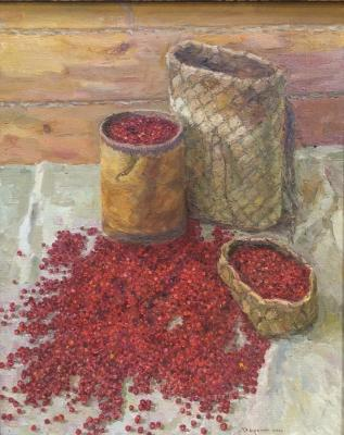 "Darin G. A. ""Cranberries. Gifts of autumn."""