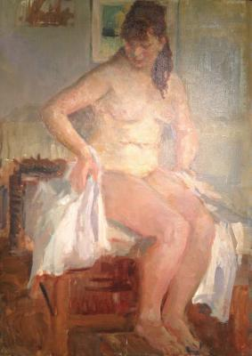 "Magidson A. S. ""Nude in the interior."""