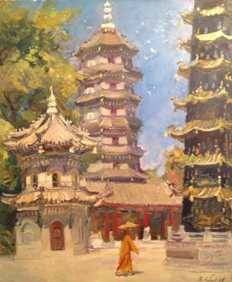 "Lyubayev P. S. ""In Harbin monastery."""