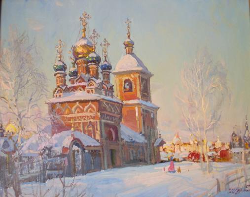 Шурпин Савва Федорович. В Москве.