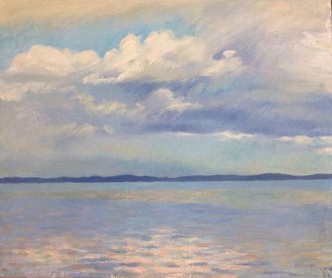 """Pyldroos E. I. """"Summer sea."""""""