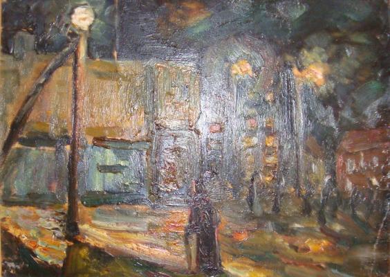 """Vasilyev MON Y. """"Night, street, lamp."""""""