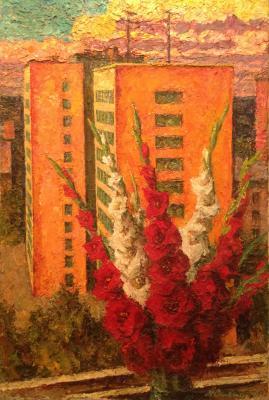 """Solonitsyn A. P. """"Autumn Bouquet. Leningrad."""""""