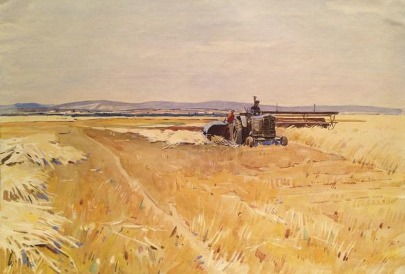 "Kraskovsky S. S. ""Of harvesting wheat."""