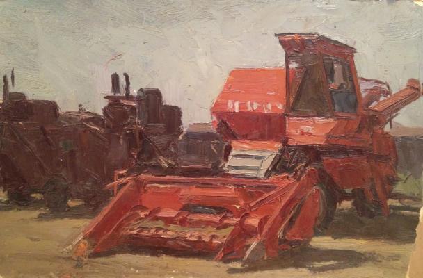"Rubinsky ""Agricultural machinery."""